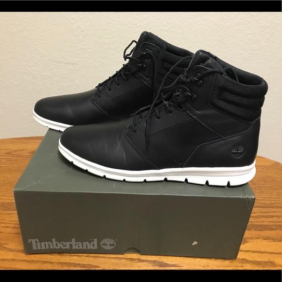 Timberland Graydon Sneak Boot Black